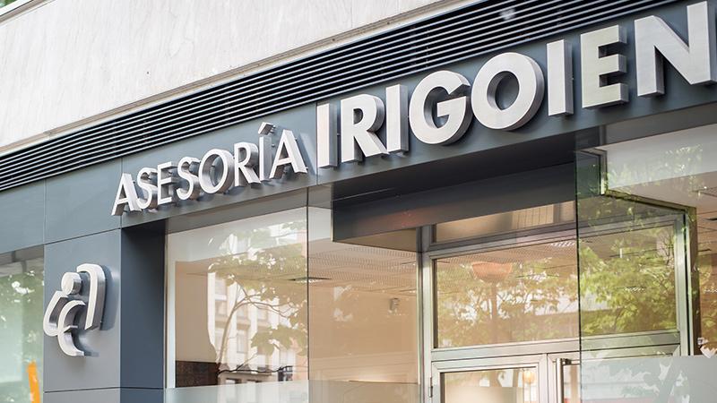 asesoria en Gasteiz Irigoien asesores fachada